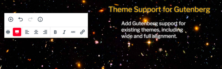 Theme Support For Gutenberg Plugin Featured Image