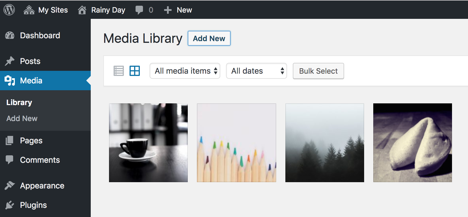 New Network Media Library Plugin Creates a Shared Library on a Multisite Network – WP Tavern