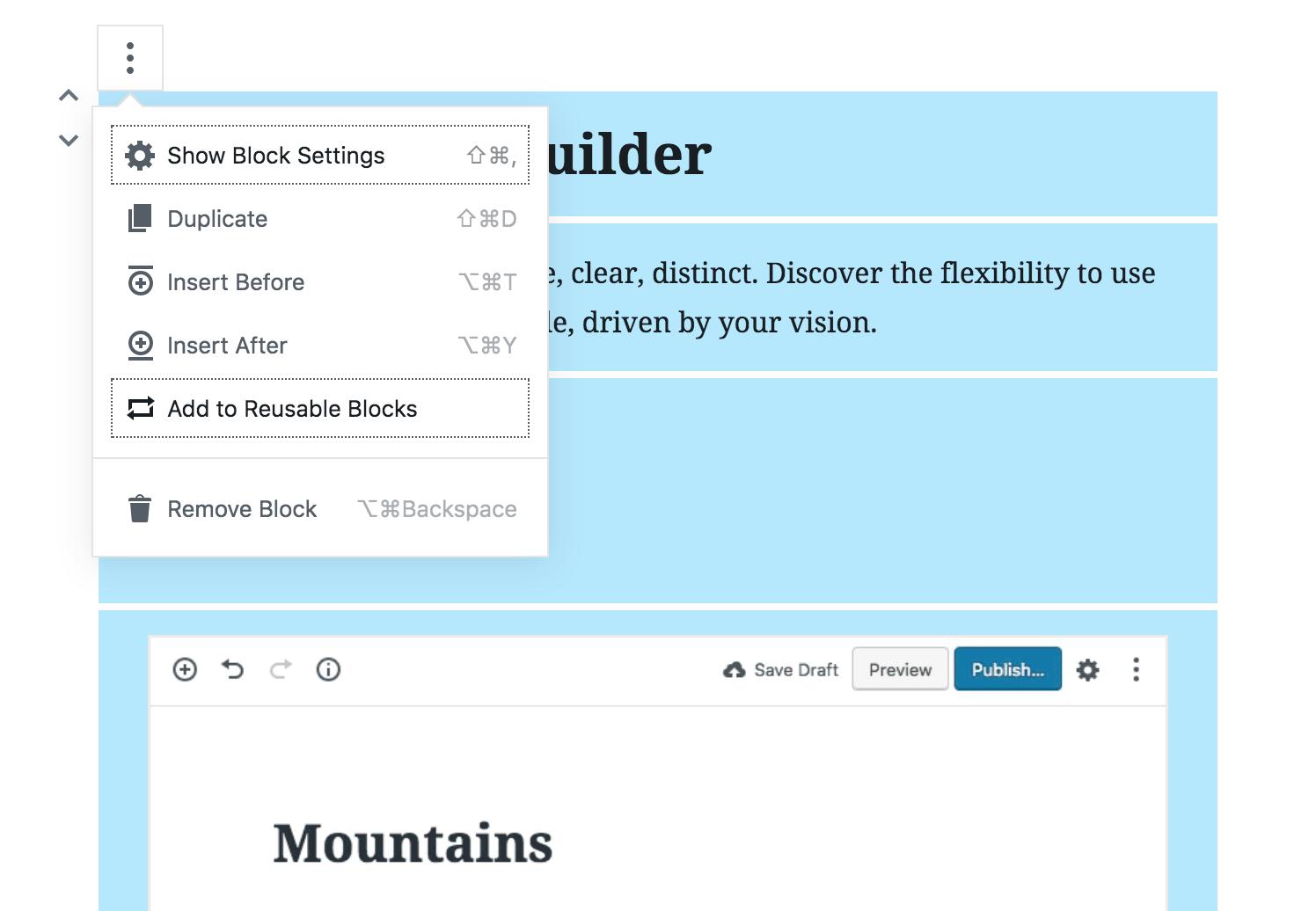 Gutenberg 3 9 Introduces Reusable, Exportable Templates for