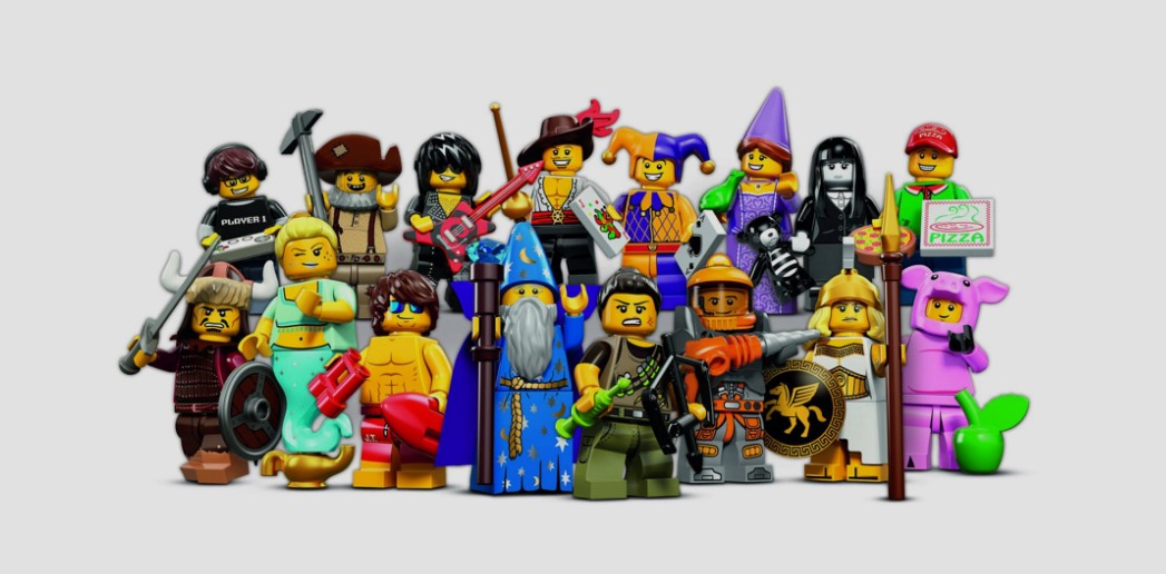 A Group of Lego Figures