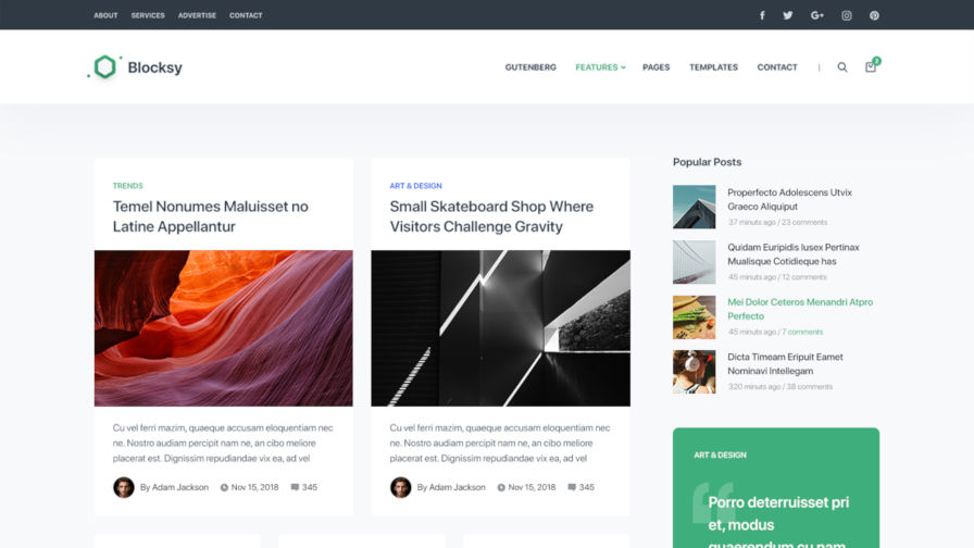 blocksy-theme Blocksy WordPress Theme Provides a Solid Block-Editor Experience design tips  Opinion|Reviews