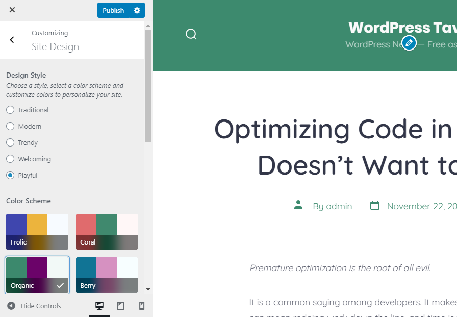 , GoDaddy's 'Go' WordPress Theme Offers a Page-Building Experience via the Block Editor – WordPress Tavern, Rojak WP
