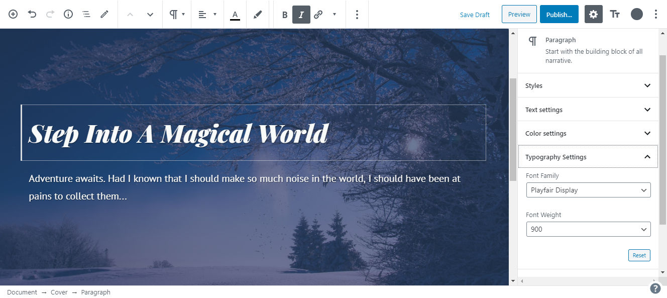 ek-typography EditorsKit Tackles Typography With First Premium Add-On design tips  News|editorskit