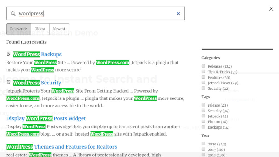 jetpack-search Jetpack Re-launches Search Feature as Standalone Service design tips  News|Plugins|jetpack