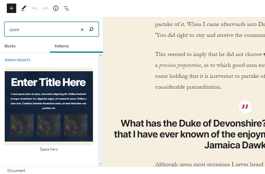 , Gutenberg 8.1 Includes Block Copying, Testimonials Pattern, and Patterns UI Update – WordPress Tavern, Rojak WP