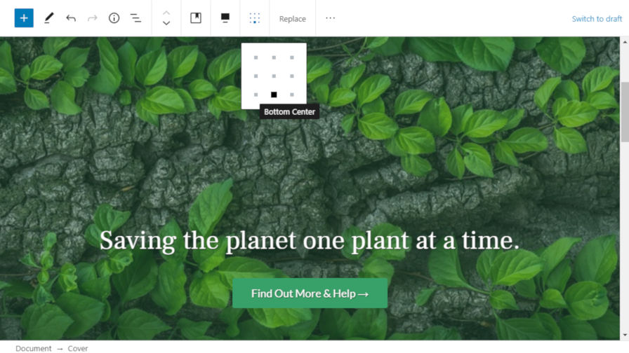 , Gutenberg 8.2 Includes Editing Flow Improvements, Cover Block Content Positioning, and Pattern Categories