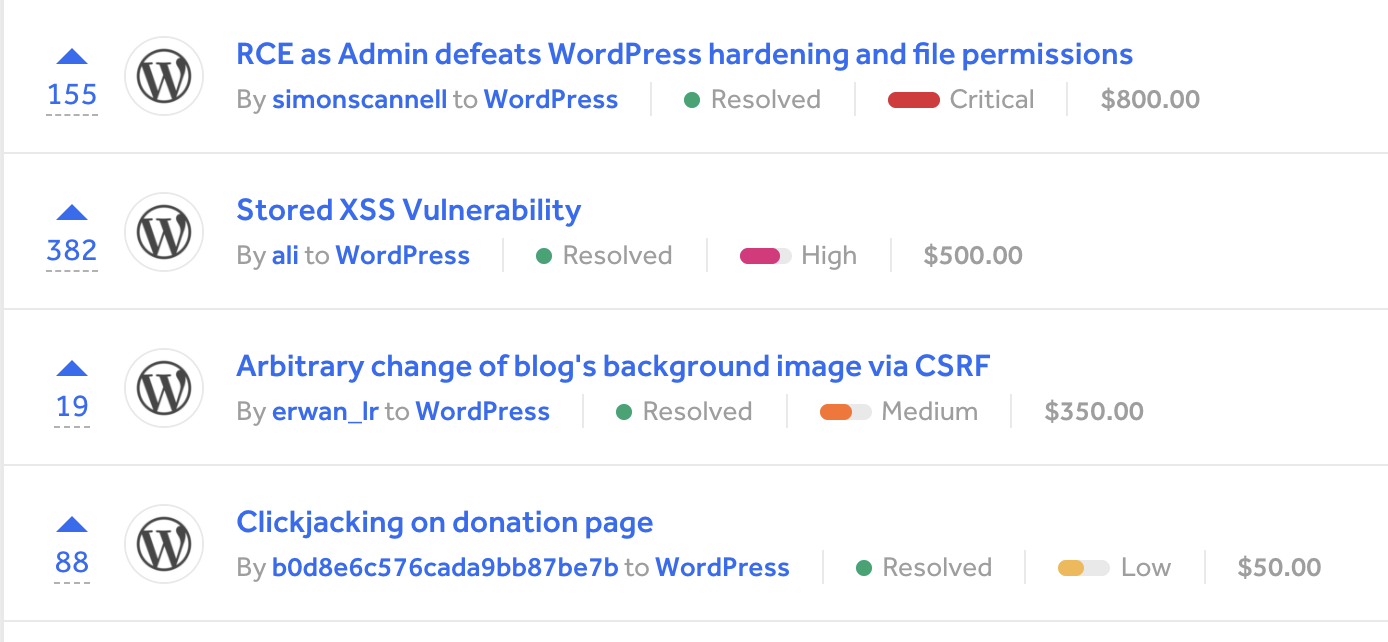 , Zerodium Temporarily Triples Payout to $300K for WordPress Exploits – WordPress Tavern, Rojak WP