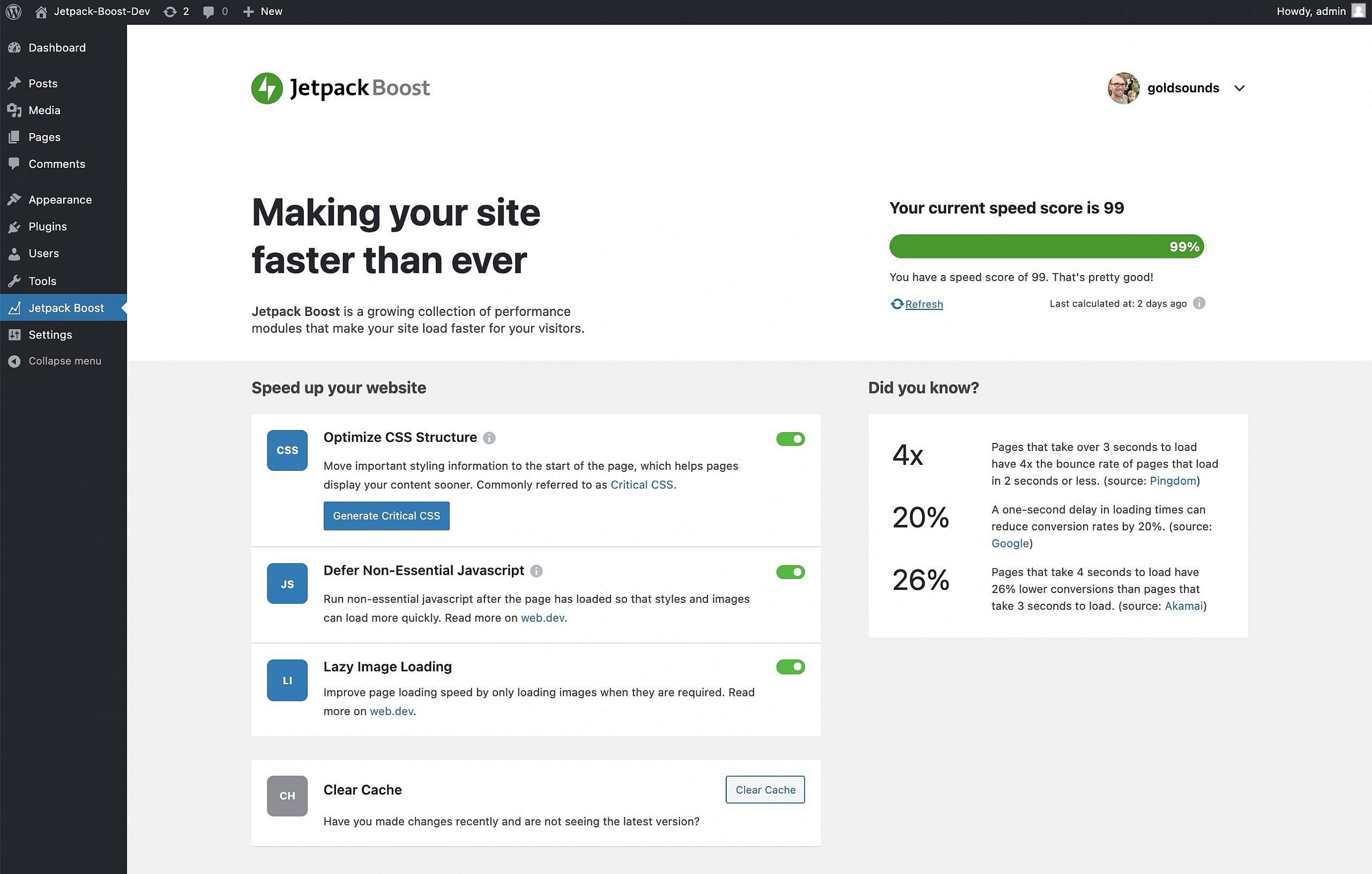 , A New Performance Plugin – WordPress Tavern, Rojak WP